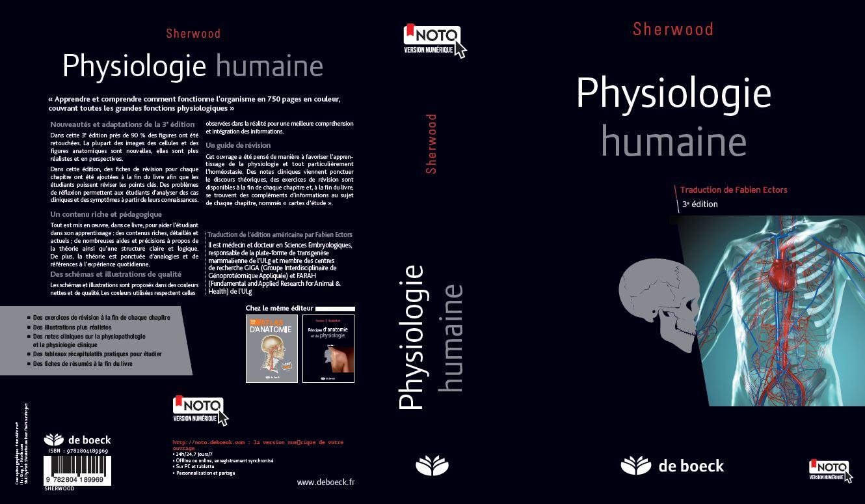 physiologie humaine sherwood